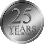 25 Years in Business